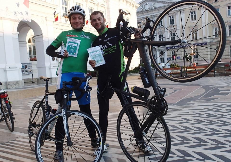 Iulian si Cristi la Brevetul de 600 de km